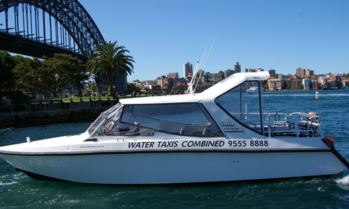 water limousine sydney harbour