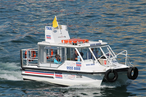 fast water taxi sydney harbour