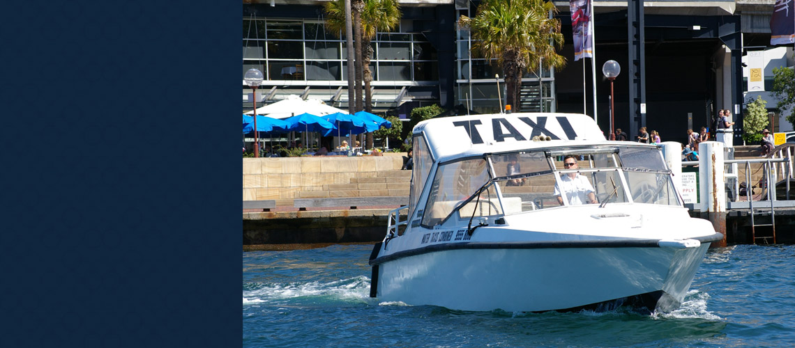 water taxi service sydney harbour