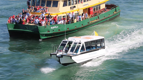 water bus sydney harbour