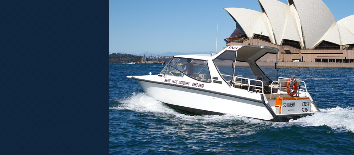 water taxi sydney harbour