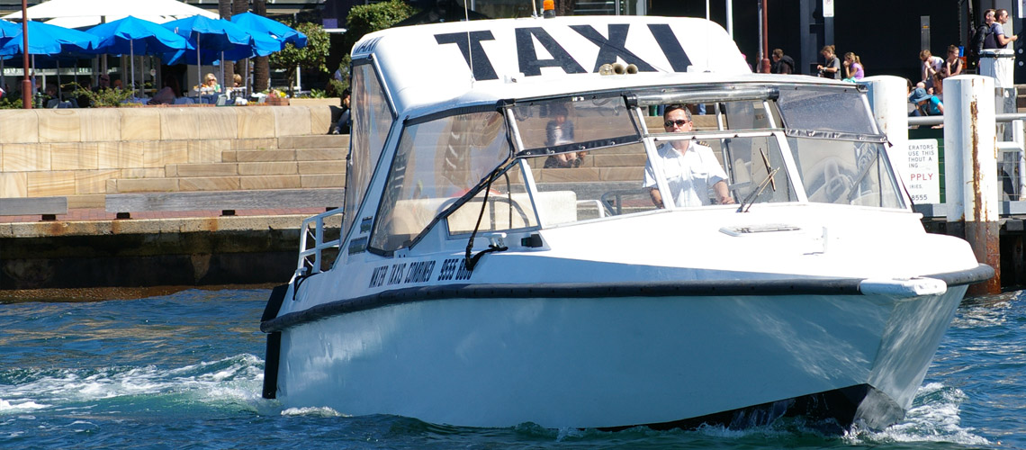 sydney harbour water taxi