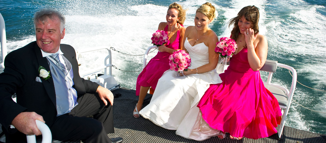 water taxi for wedding sydney harbour