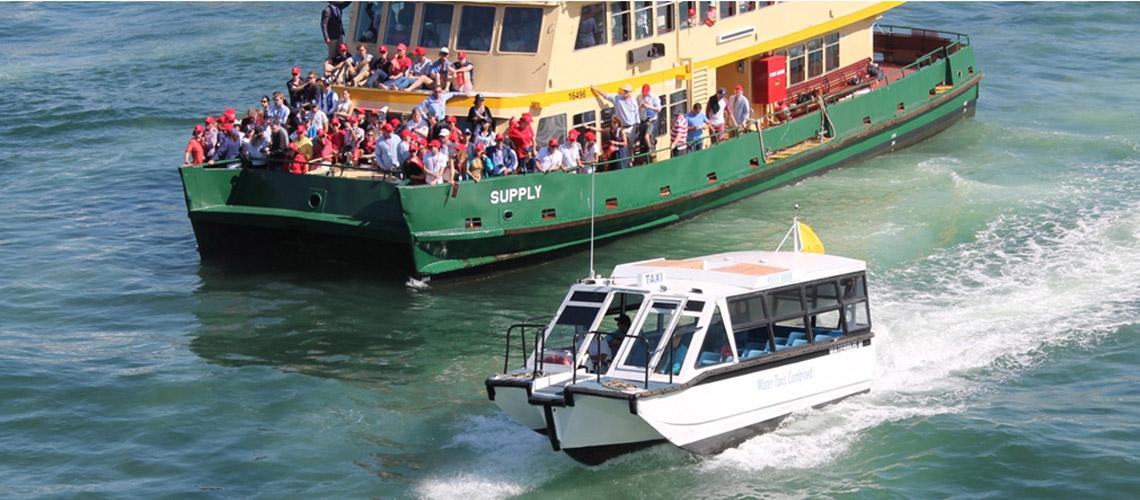 Water taxi services beckon Mumbai