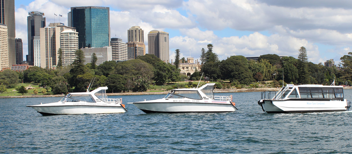 water taxi service sydney