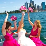 sydney harbour water taxi for wedding