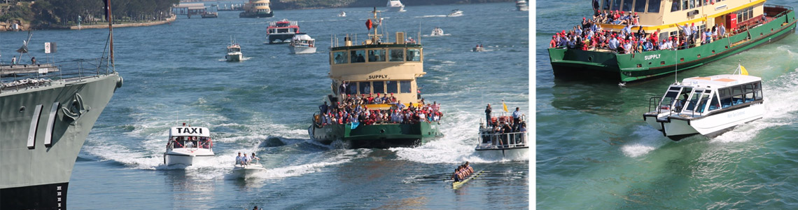 event boat hire sydney harbour