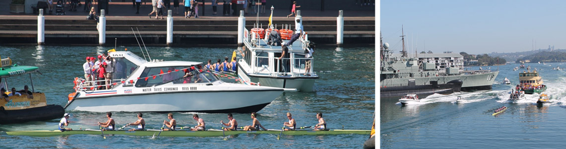 sydney harbour event boat hire