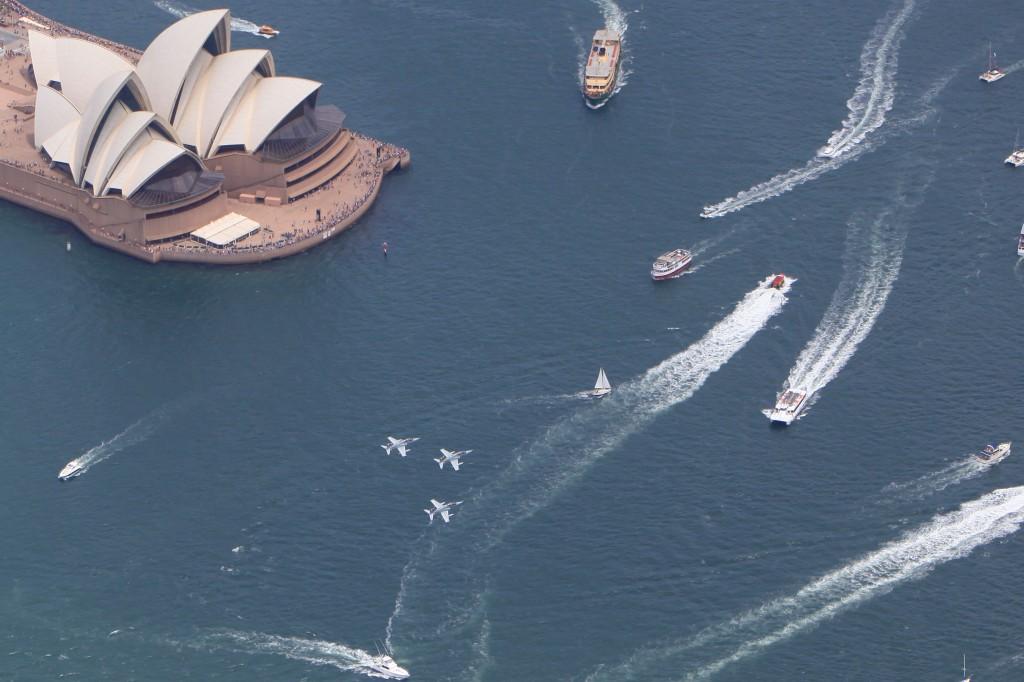 australia day boat charter sydney harbour