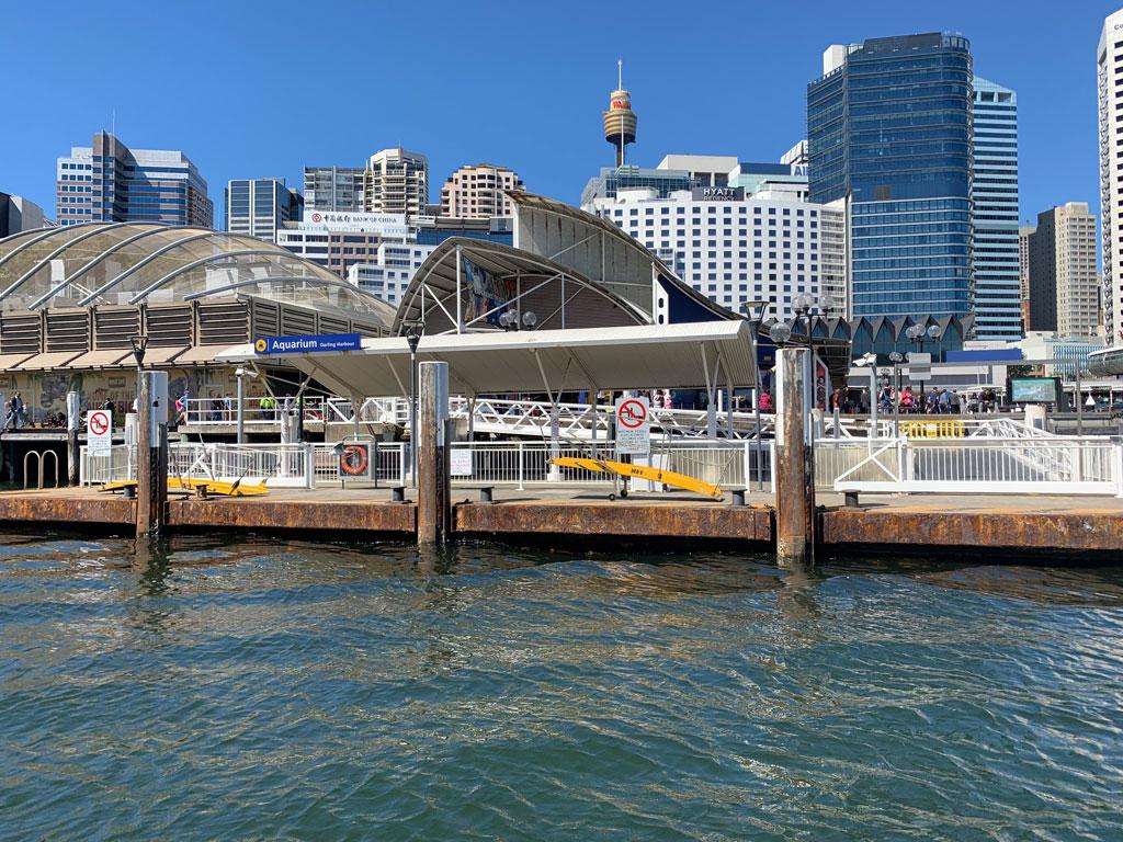 water taxis aquarium sydney
