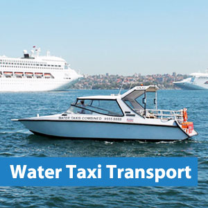 water taxi transport sydney