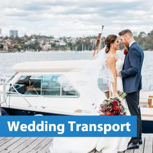 wedding water taxi sydney harbour