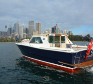The MV Salute – Charter Boat for Hire
