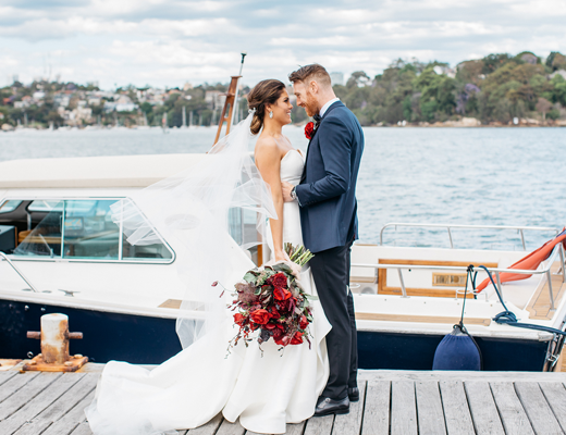 sydney water taxi wedding transport