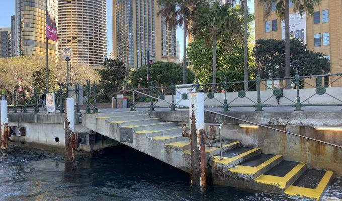 circular quay harbour master steps