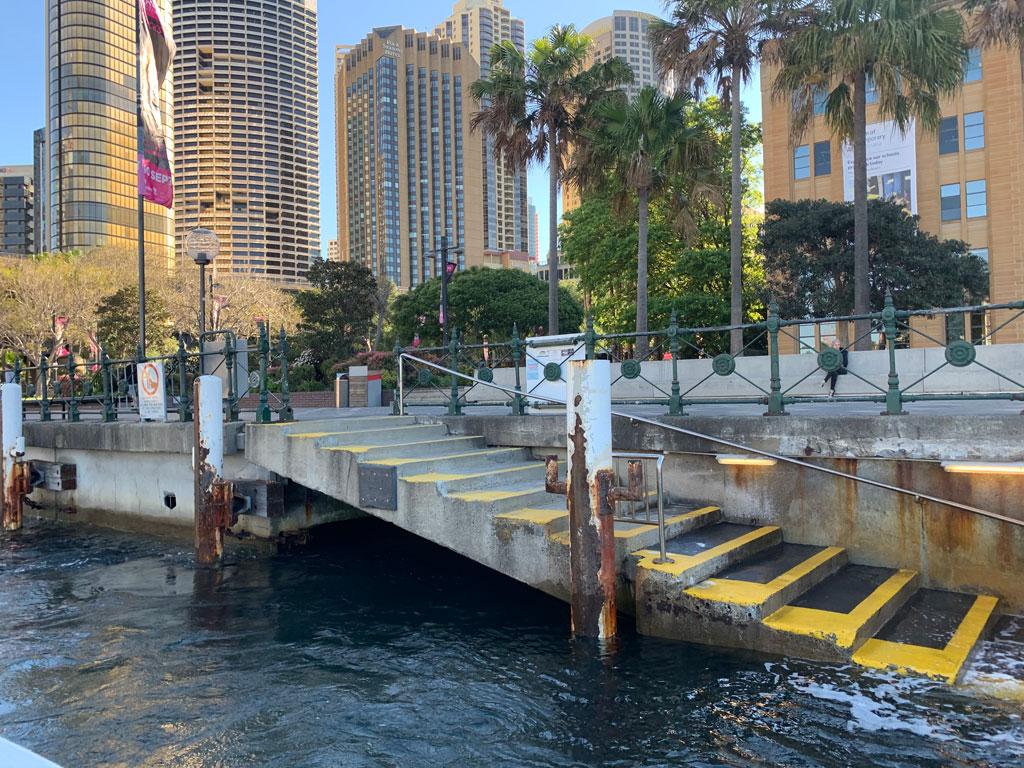 circular quay water taxis sydney