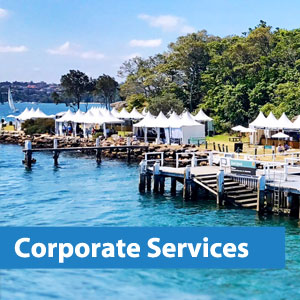 corporate water taxis services