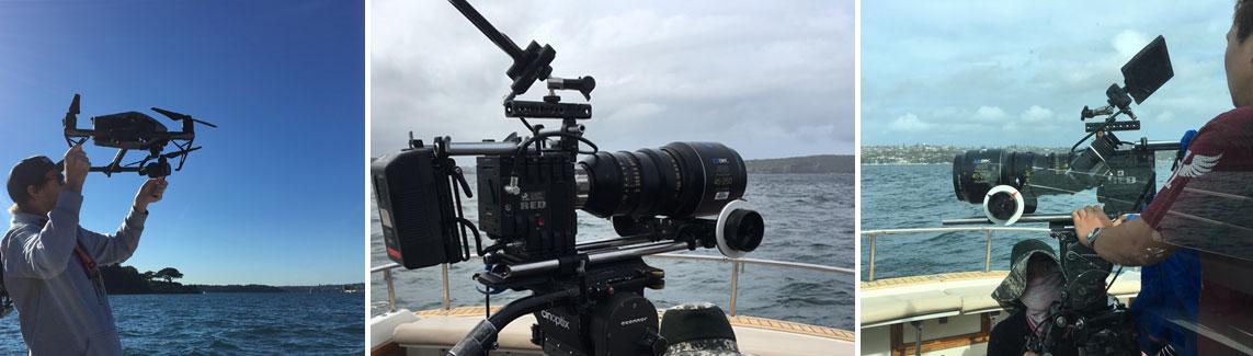 film services sydney harbour
