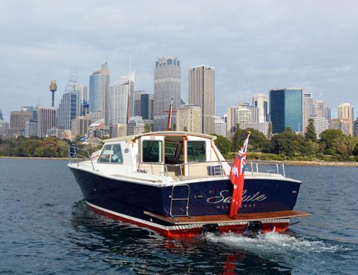 private cruises sydney