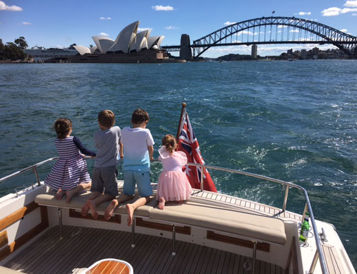 small group harbour cruises sydney