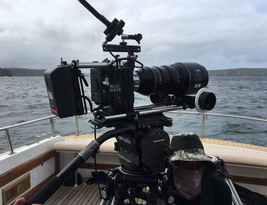 sydney harbour filming services