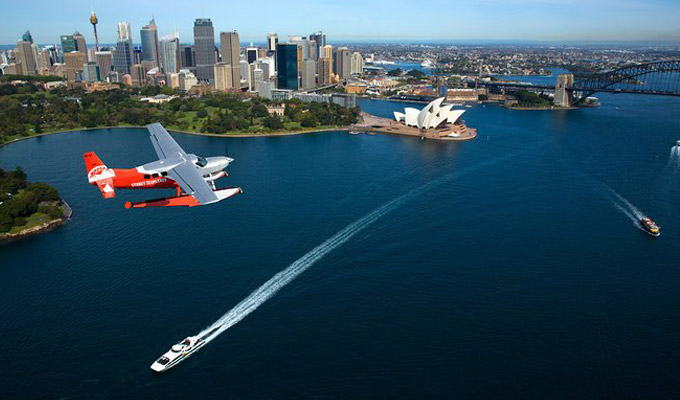 sydney harbour seaplane experiences