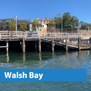 walsh bay water taxis