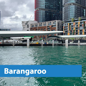 barangaroo water taxis